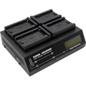 Dolgin TC400-SON-U Four-Position Simultaneous Battery Charger for Sony L-Series (Interchangeable Plates)