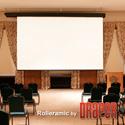 Draper 115247 Rolleramic 133 Inch HDTV Matte White XT1000E 110V