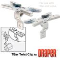 Draper 227016 T-Bar Twist Clips (Aluminum) (Star/Luma)