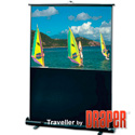 Draper 230119 16:9 HDTV Traveller 73in Diagonal Matte White