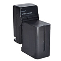 Dracast BA-CH-160 Sony Np Type Battery And Charger Combo For Led160
