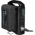 Dracast DR90SCK X1 90 Watt Hour V-Mount Battery with Dual Charger