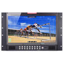 Datavideo TLM-170PR 17 Inch LCD Monitor with HD/SD-SDI - HDMI - YUV & CV Inputs - 7U Rack Mount