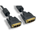 DVI-D Male - DVI-D Male Digital Single Link Cable 6ft