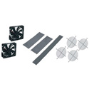 2 Qty 4 1/2in Fans Guards Vent Blockers for 22in DWR Series