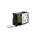 Dymo 1868702 XTL 1-Inch x 2-Inch (25 mm x 51 mm) Pre-Sized Label - Black on White