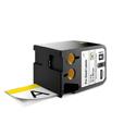 Dymo 1868714 XTL 2-Inch x 4-Inch (51 mm x 102 mm) Pre-Sized Label - Black on White w/Yellow Header
