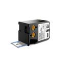 Dymo 1868718 XTL 1/2-Inch x 1-5/16-Inch (12 mm x 34 mm) Pre-Sized Hea-Shrink Tube - Black on White