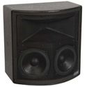 EAW UB22Z Black  Passive Two-Way Rectangular Enclosure - Black