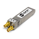 Embrionix HD-BNC Dual Transmitter - 12G/6G/3G/HD/SD-SDI UHD Video SFP (emSFP) Medium Reach - Reclocked - Non-MSA