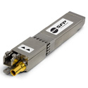 Embrionix DIN 1.0/2.3 1310nm Dual Receiver - 3G/HD/SD/ASI SDI Video SFP (emSFP) Hybrid Medium Reach - Reclocked - Non-MS