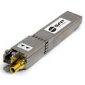 Embrionix DIN 1.0/2.3 1310nm Dual Transmitter - 3G/HD/SD/ASI SDI Video SFP (emSFP) Hybrid Medium Reach - Reclocked - Non