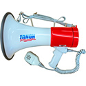 Fanon EC-25 25 Watt 1000 Yard Megaphone with Detatchable Mic - Red