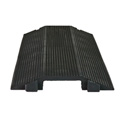 Elasco Guards ED-1010BK 1 Channel (4 Inch) Cord Dropover
