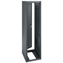 ERK-4420 44RU (77in) 20-Inch Deep Stand Alone Rack wtih Rear Door - Black