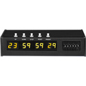 ESE ES 466 SMPTE/EBU Presettable Up/Down Timer with Rack Mount Option