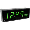 ESE ES-993U/NTP-C/POE/GREEN Time Code Remote Display with NTP-C & PoE Options - Green