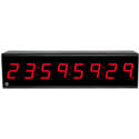 ESE ES-493UJ/RED SMPTE / EBU Timecode Display with Red LED Display and 220VAC/50 Hz Operation