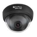 EverFocus ED710B Indoor True Day/Night 3-Axis Camera with DWDR - Black Base