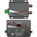 Thor Fiber F-RF-TxRx-MN2-1310 RF Over SC/APC Optical Fiber Transmitter and Receiver Set - 1310nm