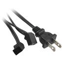 Daisy Chain Fan Cord 2 Plugs