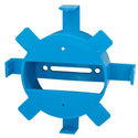 Cable Management Round Spool 1.5 inch Bend Radius Blue