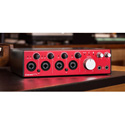 Focusrite Clarett 4Pre 18x8 Thunderbolt Interface with 4 Mic Preamps