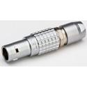 Lemo FGG.0B.304.CLAD31 Circular Push Pull Connector 4P Straight Plug B Series S