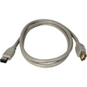 Firewire Extension 6 Pin M-F 3 Meter