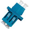 LC to LC Footprint Fiber Adapter/ Duplex/ Singlemode/ Plastic with SC Footprint