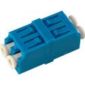 LC to LC Singlemode Duplex Fiber Optic Coupler Adapter Zirconia Sleeve