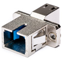 LC to SC Multimode Simplex Fiber Optic Coupler
