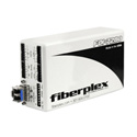 Fiberplex FOI-7280-L22 Line Level Stereo Audio Transceiver with PTT Serial Data and Controls 1310nm Multimode LC Optics