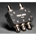Freakshow HD MSX4-L Micro Split 4K/12G Reclocking Distribution Amplifier - Lemo Power Connector
