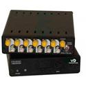 Multidyne FS-12000-RX-ST 12-Channel Fiber Optical Remapper/Multiplexer - Rx