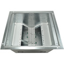 FSR FL-540P-10-B Back Floor Box - 10 Inch Deep with Temporary Cover