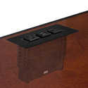 FSR TM-IN1-BLK In Table Mount for T6-LB Family of Inserts