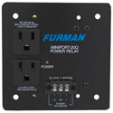 Furman MP-20Q Miniport 20A Hard Wire (2) 12A Outlets Quad Box Power Relay