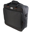 Gator G-MIX-B 1515 15 x 15 x 5.5 Inch Padded Nylon Mixer or Equipment Gig Bag