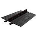 Guard Dog Low Profile-1 Channel with ADA Compliant Ramps Black Lid/Black Base