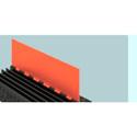 Guard Dog GD5LID-O Orange Lid For GDX125OB