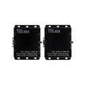 Gefen GTB-UHD2IRS-ELRPOL-BLK 4K Ultra HD ELR-POL HDMI Extender w/RS-232 and 2-way IR