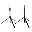 Gator Frameworks GFW-ID-SPKRSET ID Series Adjustable Speaker Stands with Piston Driven Lift Assistance - 2