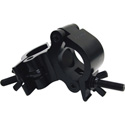 Global Truss PROSWIVEL CLAMP BLK 2 Inch Swivel Jointed Wrap Around Clamp - Black Powder Coat.