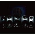 Genelec 8030.LSEBroadcast Pak 5.1 System Surround System - Producer Black Finish