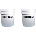 Goo Systems 8864 16L Reference White Finish Coat & 16L Reference White Reflective Coat - Pair