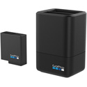 GoPro AADBD-001 Dual Battery Charger and Battery for HERO6 Black/HERO5 Black/HERO 2018 - Li-Ion Included