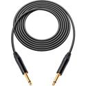 Canare GS-6 Instrument Cable w/Neutrik XS 1/4 Phone Plugs 10 Ft. Black