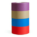 MicroGaffer Color GT-89AB 1-Inch x 8-Yard Gaffer Tape 4-Roll Multi-Pack