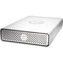 G-Tech 0G03906 G-DRIVE Professional Hard Drive 7200RPM SATA III Drive USB 3.0 - 8TB - Silver